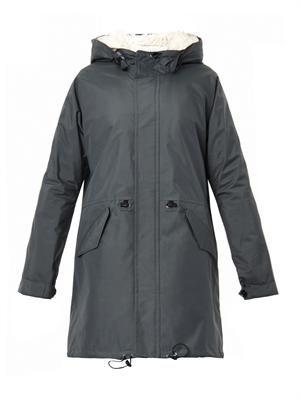 Waterproof parka coat
