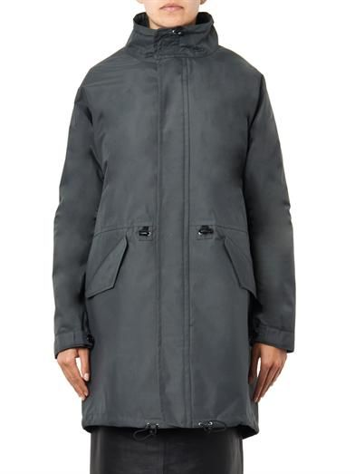 Julien David Waterproof parka coat