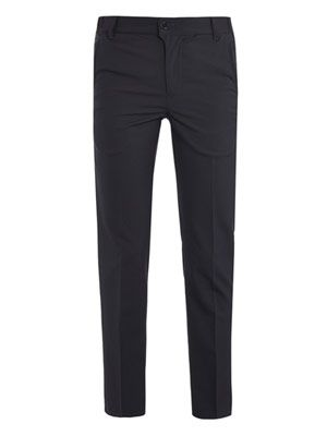 Tropical wool tailored trousers