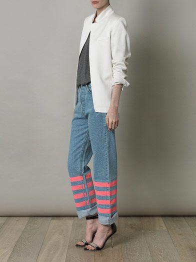 Lulu & Co Vintage mid-rise straight-leg jeans