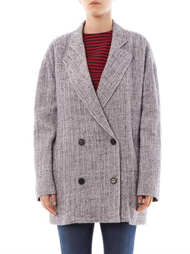 Band Of Outsiders Double-breasted wool coat