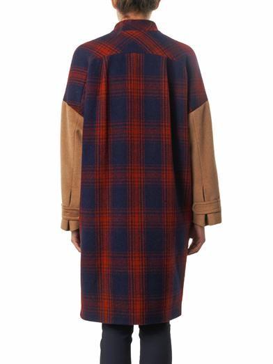 Band Of Outsiders Blanket wool coat