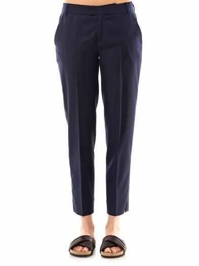 Band Of Outsiders Le Smoking twill trousers