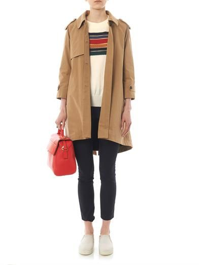 Band Of Outsiders Blanket-lining trench coat