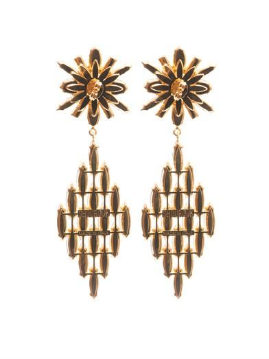 Shourouk Cobra earrings