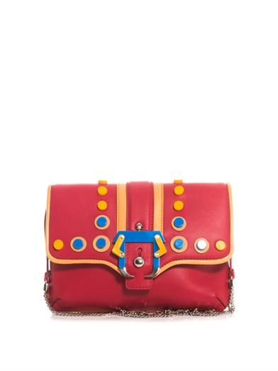Paula Cademartori Petite Sylvie leather shoulder bag