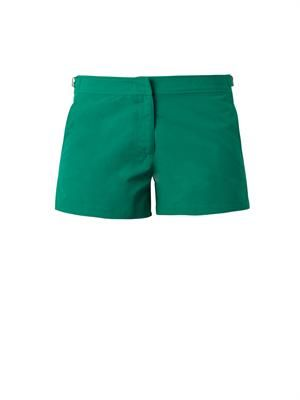 Whippet side-fastening shorts