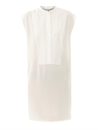 3.1 Phillip Lim Bib-front cotton and silk dress