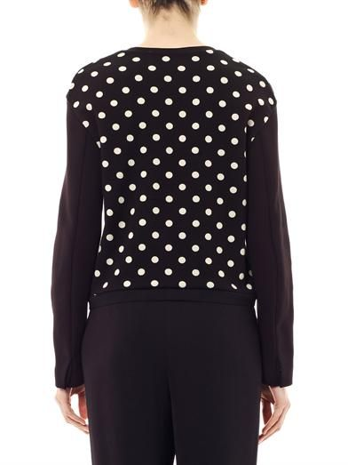 3.1 Phillip Lim Polka-dot sweatshirt