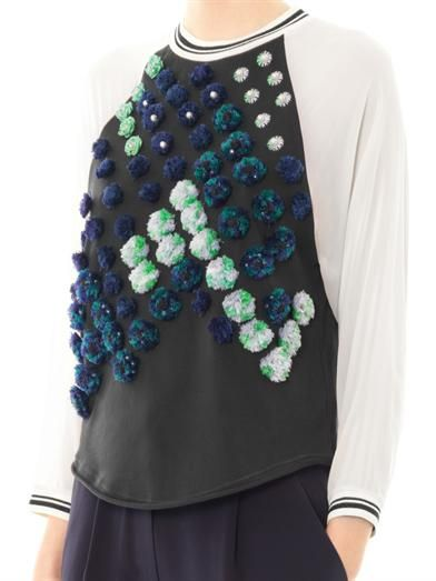 3.1 Phillip Lim Dandelion embellished top