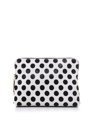31 Minute calf-hair clutch