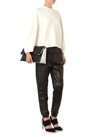 3.1 Phillip Lim Cotton and cashmere-blend sweater