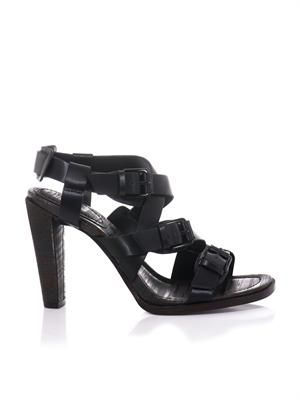 Ada buckle-strap leather sandals