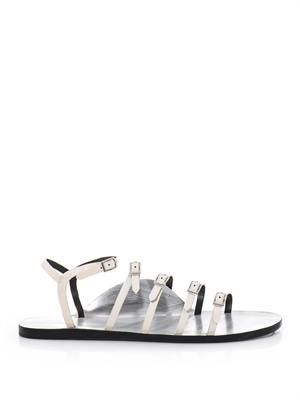Ella multi-strap leather sandals