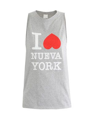 I love Nueva York muscle tank top