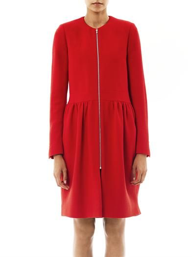 Preen Robyn crepe dress coat