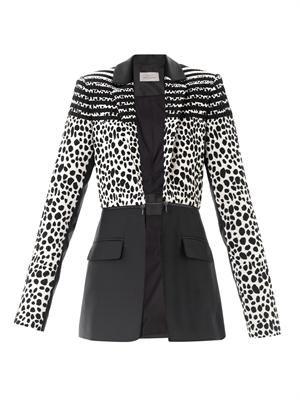 Colby Dalmatian spot jacket