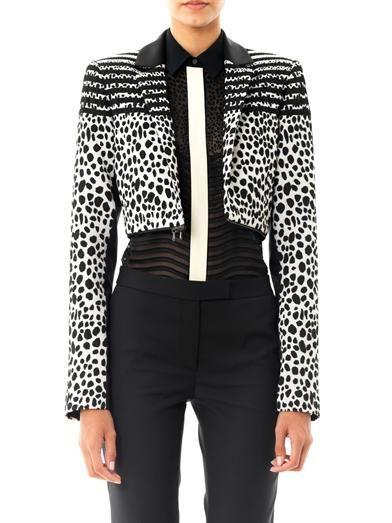 Preen by Thornton Bregazzi Colby Dalmatian spot jacket