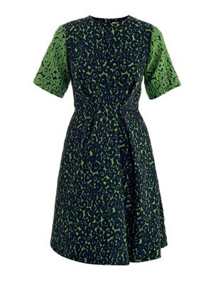 Hazel jacquard dress