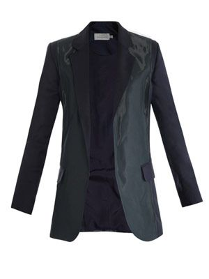 Fold coated-panel jacket