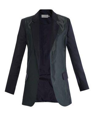 Fold coated-panel jacket