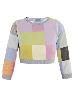 Mia pixel sweater