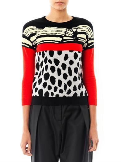 Preen by Thornton Bregazzi Track cashmere sweater