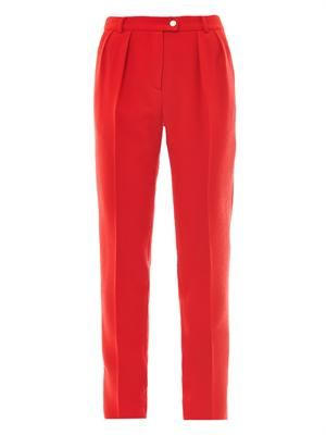 Ara crepe tailored trousers