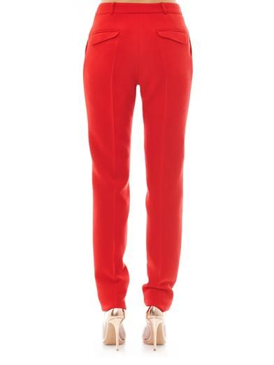 Preen Ara crepe tailored trousers