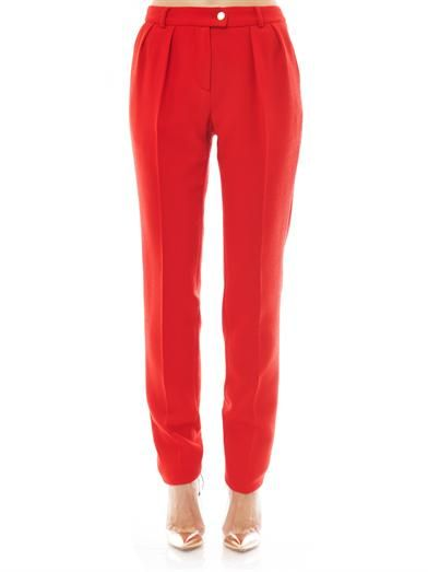 Preen by Thornton Bregazzi Ara crepe tailored trousers