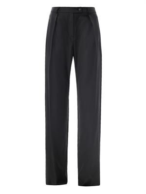 Balloon wool trousers