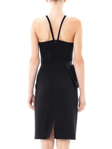 Pedro Lourenço Peplum halter-neck dress