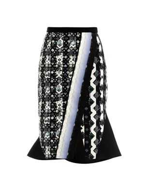 Michon geometric skirt