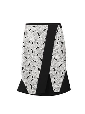 Jane embroidered skirt
