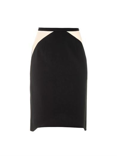 Peter Pilotto S bi-colour skirt
