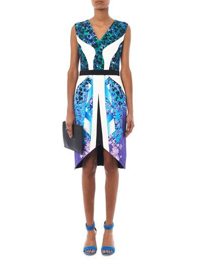 Peter Pilotto Karlie Growing-print dress