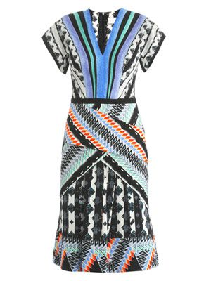 Tamara graphic-print dress