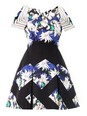 Tallulah Dahlia printed dress