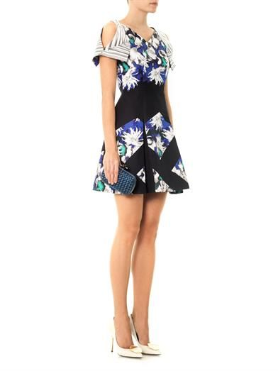 Peter Pilotto Tallulah Dahlia printed dress