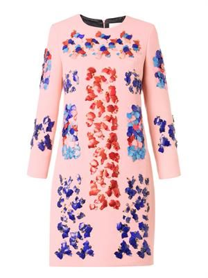 Lex embellished wool dress