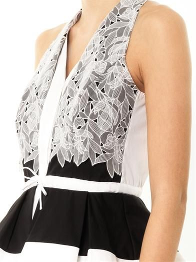 Peter Pilotto Cate embroidered-lace top