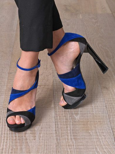 Pierre Hardy Arlequin disco sandals