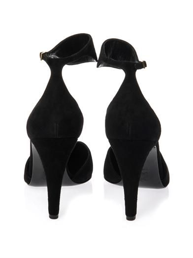 Pierre Hardy Cut-out suede pumps