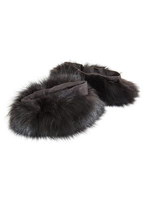 Suzanna fur cuffs