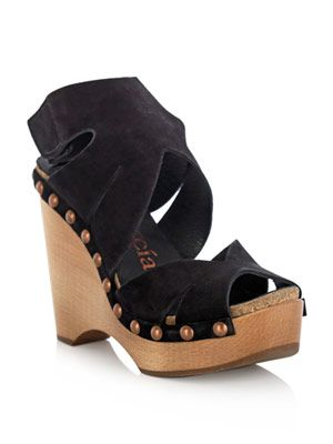 Agatha wedge shoes