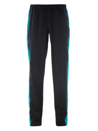 Prabal Gurung Contrasting-stripe tuxedo trousers