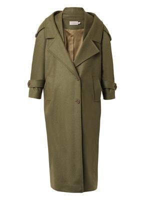 Skylar oversized wool-coat