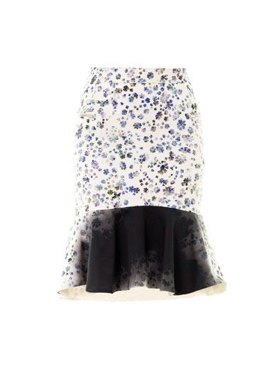 Preen by Thornton Bregazzi Morgan floral-print skirt