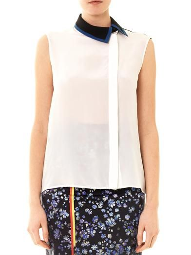 Preen by Thornton Bregazzi Nora off-centre blouse