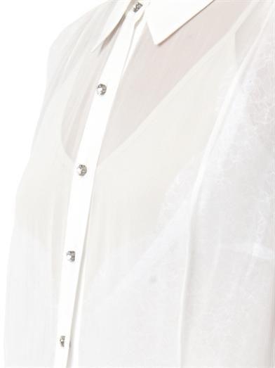 Preen by Thornton Bregazzi Barton silk-georgette sheer dress